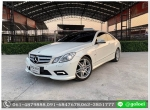 Benz E250 CGI COUPE AMG Sport Package ปี 2011 ฟรีดาวน์